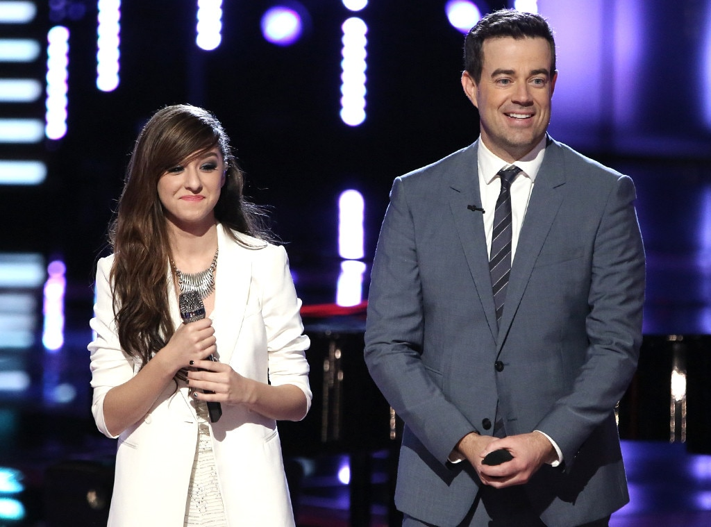 Christina Grimmie, Carson Daly