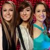Bria Kelly, Christina Grimmie, Audra McLaughlin