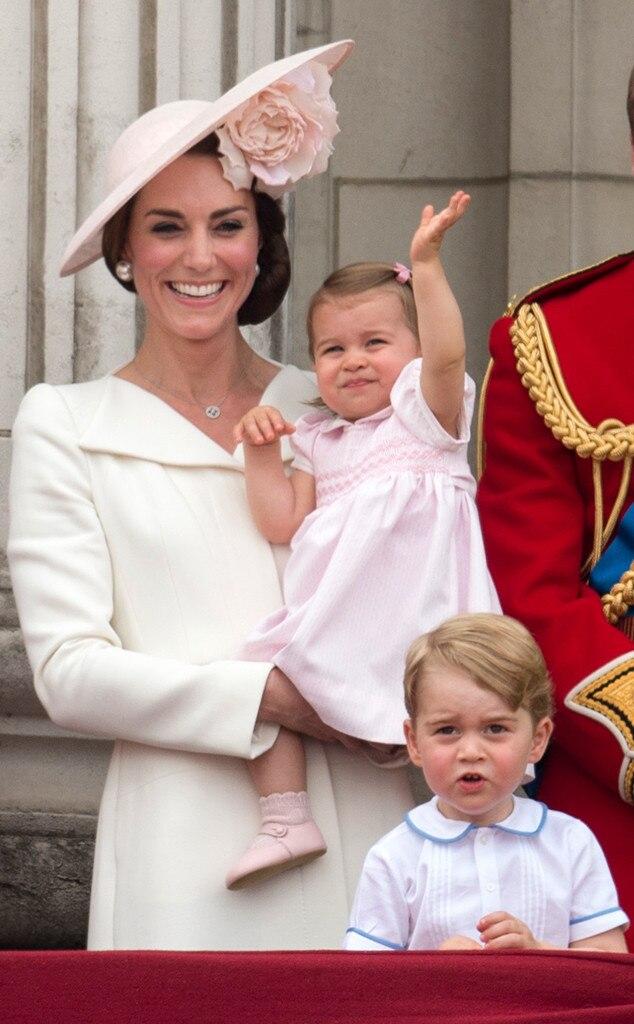 Kate Middleton, Duchess of Cambridge, Princess Charlotte, Prince George