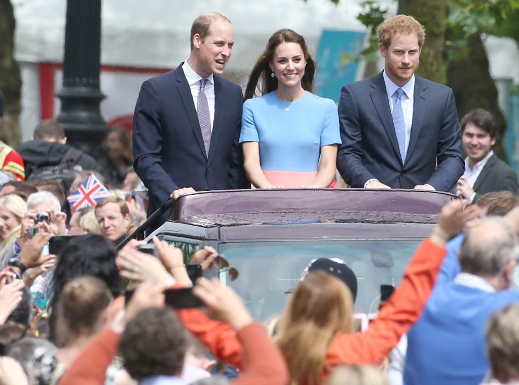 Kate Middleton, Duchess of Cambridge, Prince Harry, Prince William