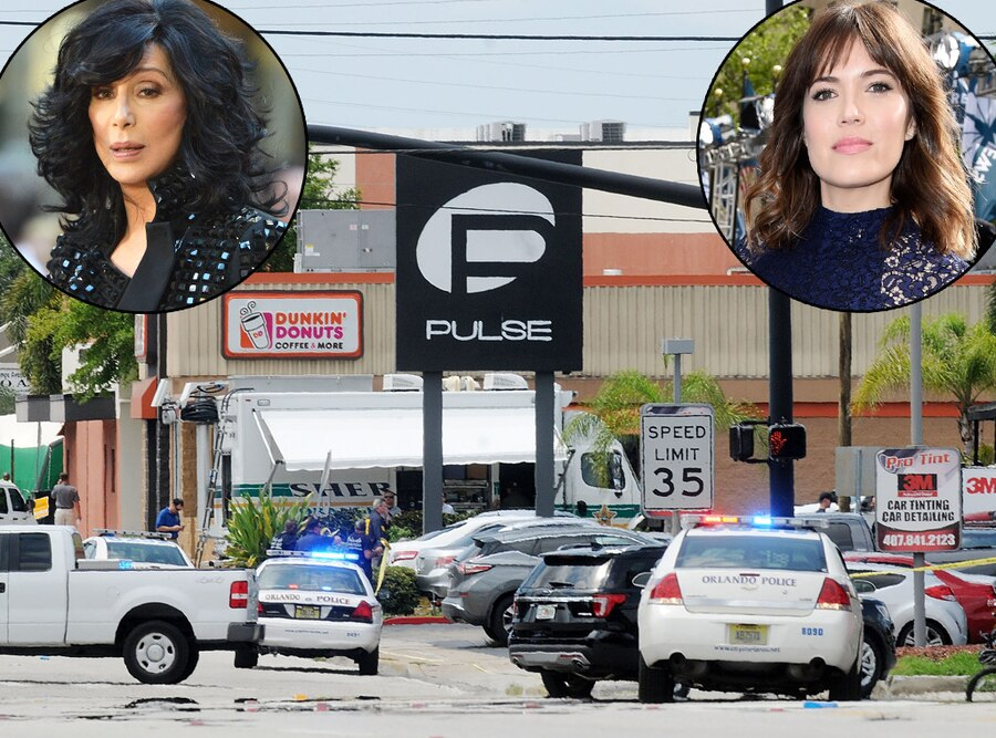 Orlando Shooting, Mandy Moore, Cher