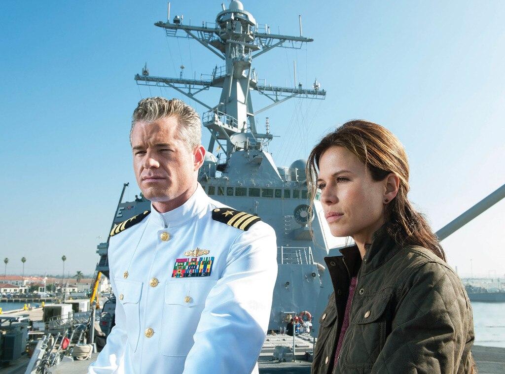 Eric Dane, Rhona Mitra, Last Ship