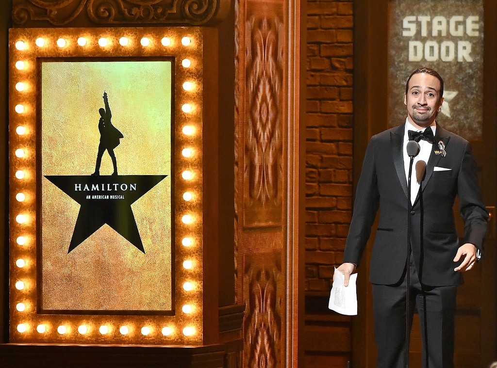 Lin-Manuel Miranda, Tony Awards 2016, Show