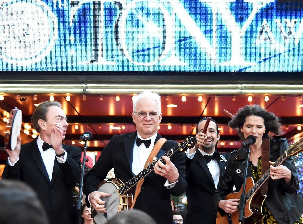 Andrew Lloyd Webber, Steve Martin, Lin-Manuel Miranda,  Edie Brickell, Tony Awards 2016, Show
