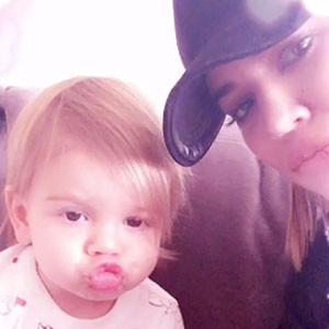 Khloe Kardashian, Reign Disick, Snapchat