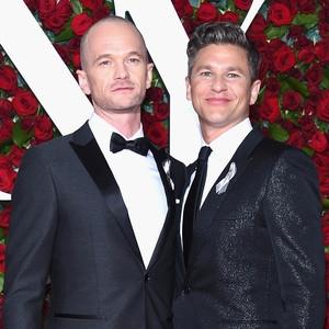 Neil Patrick Harris and David Burtka, Tony Awards 2016
