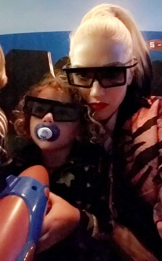 Gwen Stefani, Son Apollo, Snapchat