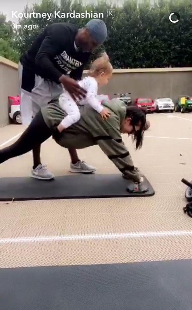Kourtney Kardashian, Reign Disick, Snapchat