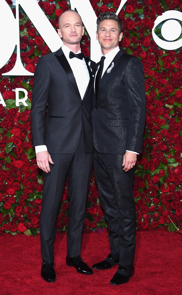 Neil Patrick Harris and David Burtka, Tony Awards 2016