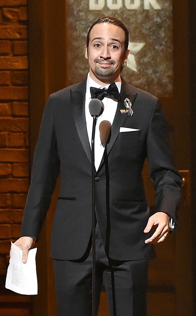 Lin-Manuel Miranda, Tony Awards 2016, Show