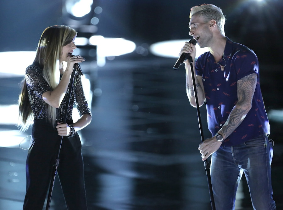 Christina Grimmie, Adam Levine, The Voice