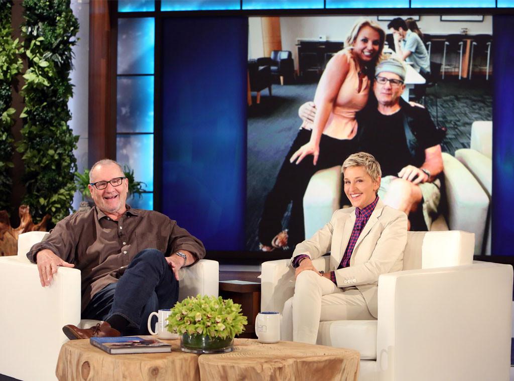 Ed O'Neill, Ellen DeGeneres Show, Britney Spears