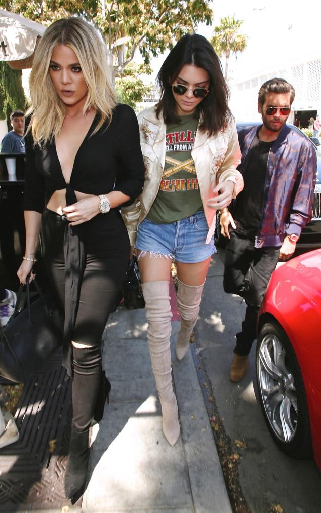 Kendall Jenner, Khloe Kardashian, Scott Disick