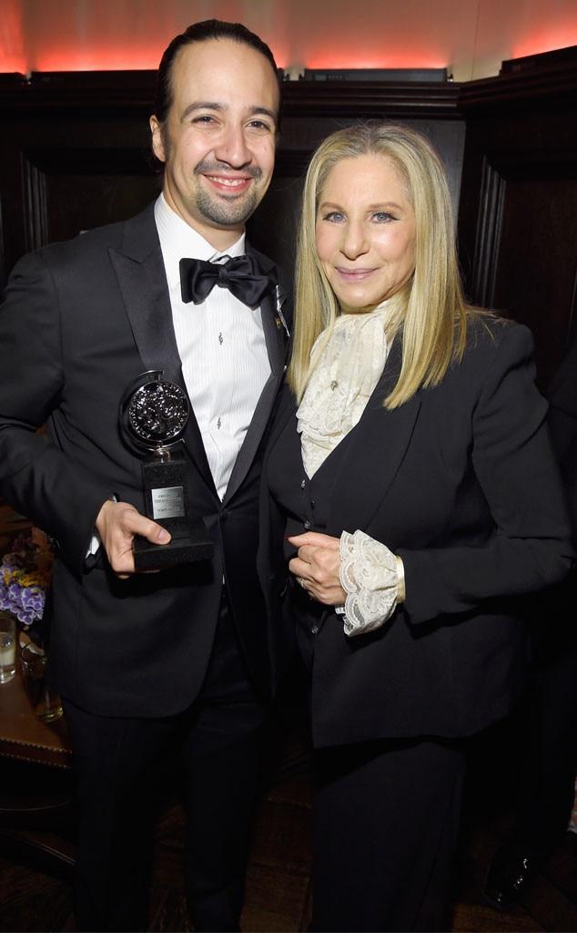 Lin-Manuel Miranda, Barbra Streisand
