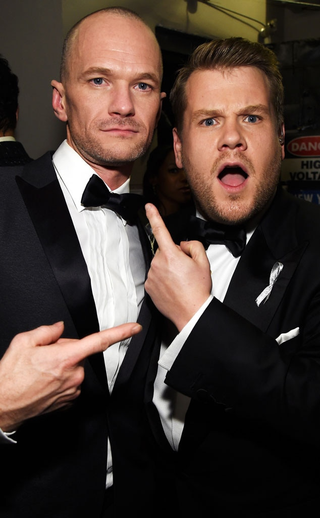 Neil Patrick Harris, James Corden