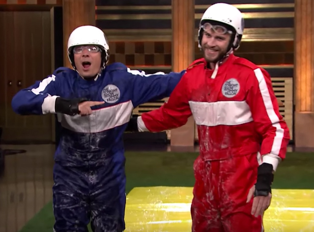 Jimmy Fallon, Liam Hemsworth, The Tonight Show