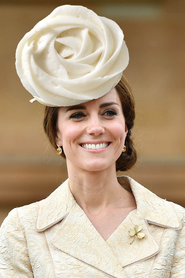 Kate Middleton, Catherine Duchess of Cambridge, White Rose Cupcake