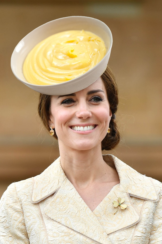 Kate Middleton, Catherine Duchess of Cambridge, Bowl of Pudding