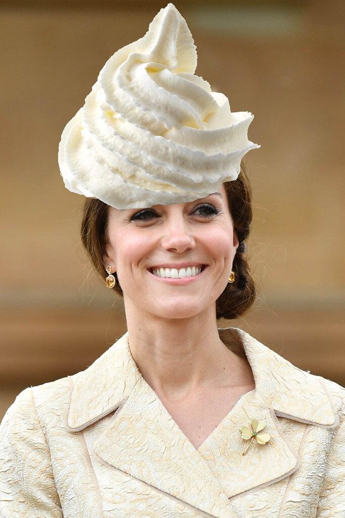 Kate Middleton, Catherine Duchess of Cambridge, Whipped Cream