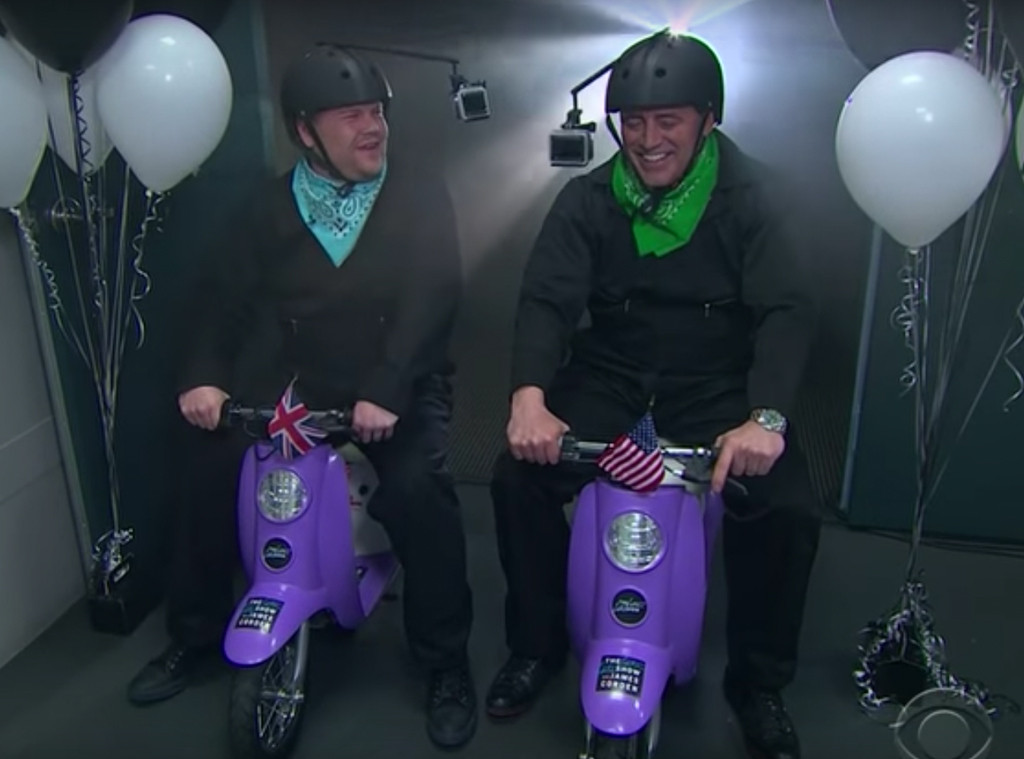 James Corden, Matt LeBlanc, Late Late Show