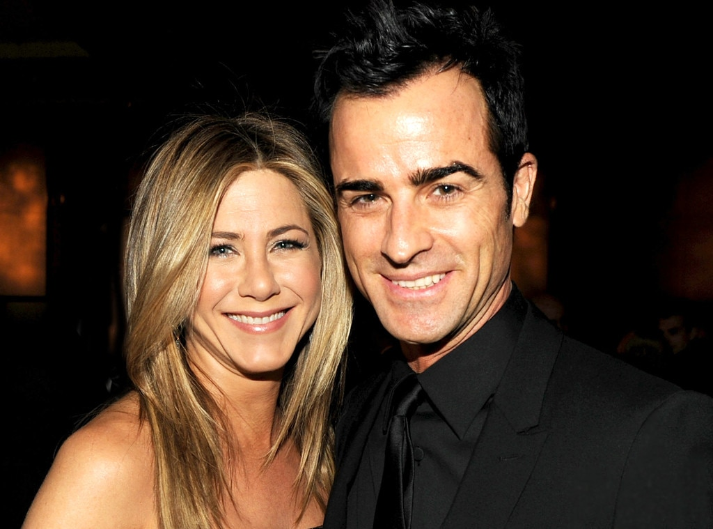 Image result for JUSTIN THEROUX AND JENNIFER ANISTON