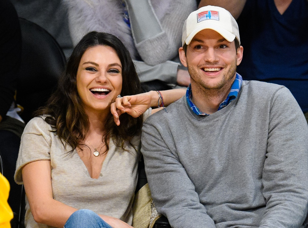 Image result for Mila Kunis and Ashton Kutcher
