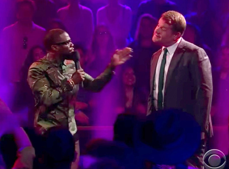 Kevin Hart, James Corden, Late Late Show