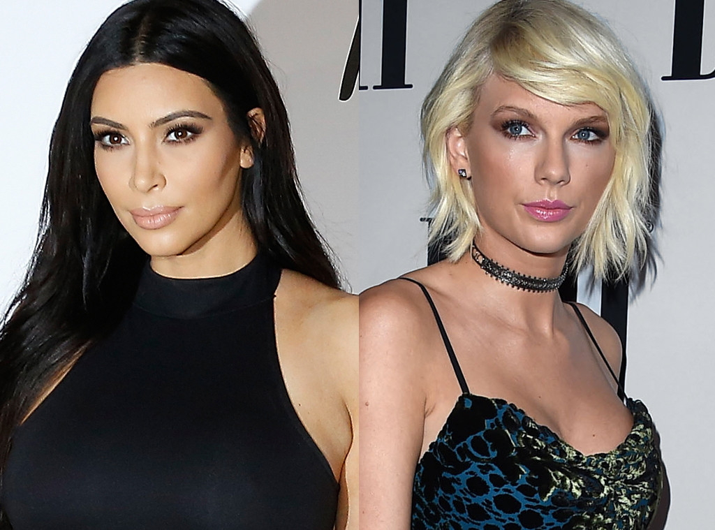 Kim Kardashian, Taylor Swift
