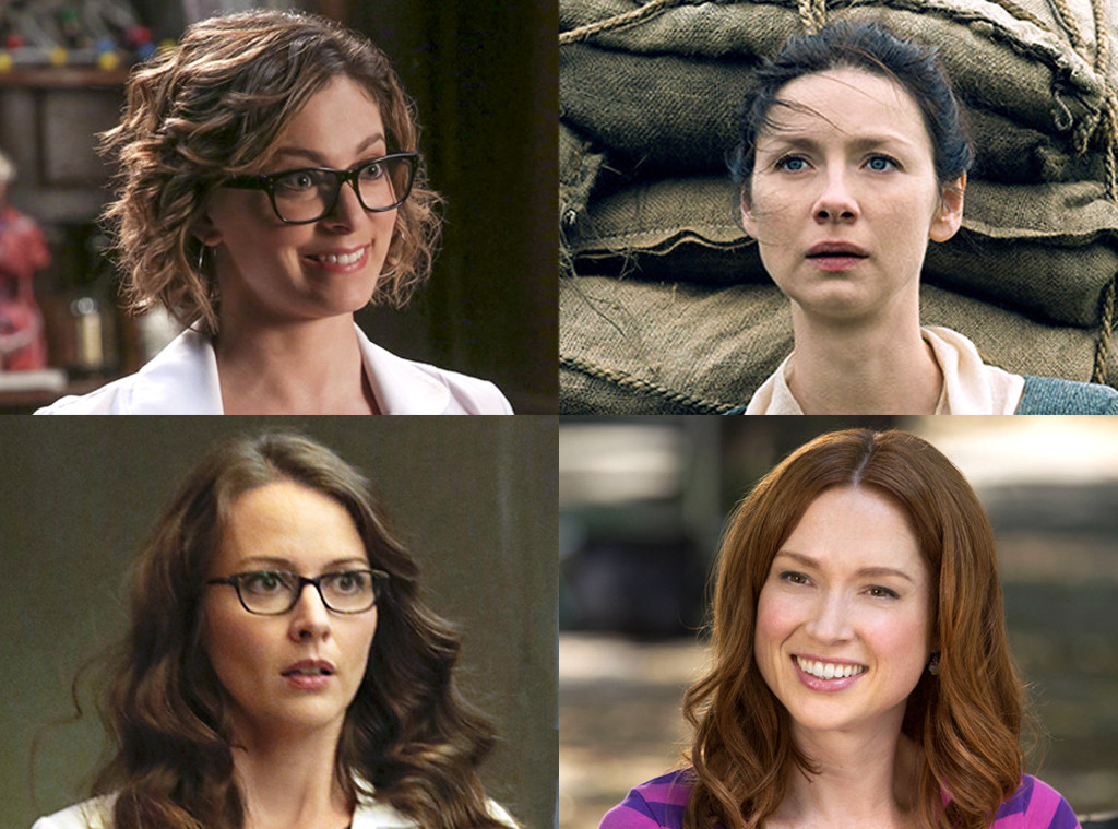 Unbreakable Kimmy Schmidt, Outlander, Person of Interest, Crazy Ex-Girlfriend, Best Shows