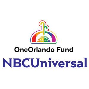OneOrlando Fund, NBCUniversal Logos