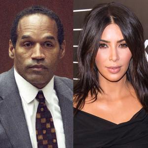O.J. Simpson, Kim Kardashian