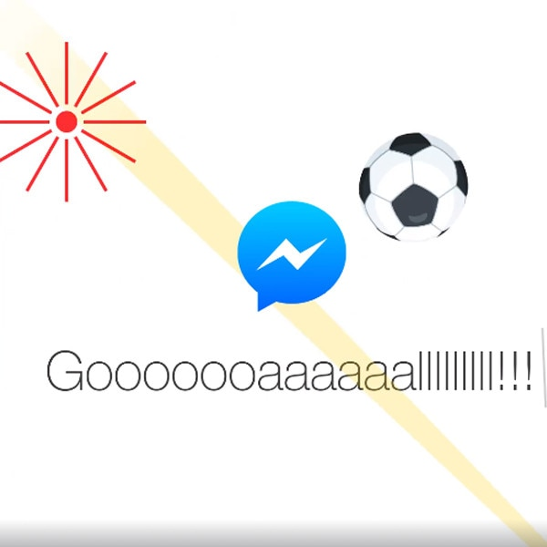 Facebook Messenger Hidden Soccer Game