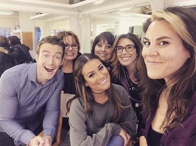 Lea Michele, Robert Buckley, Instagram