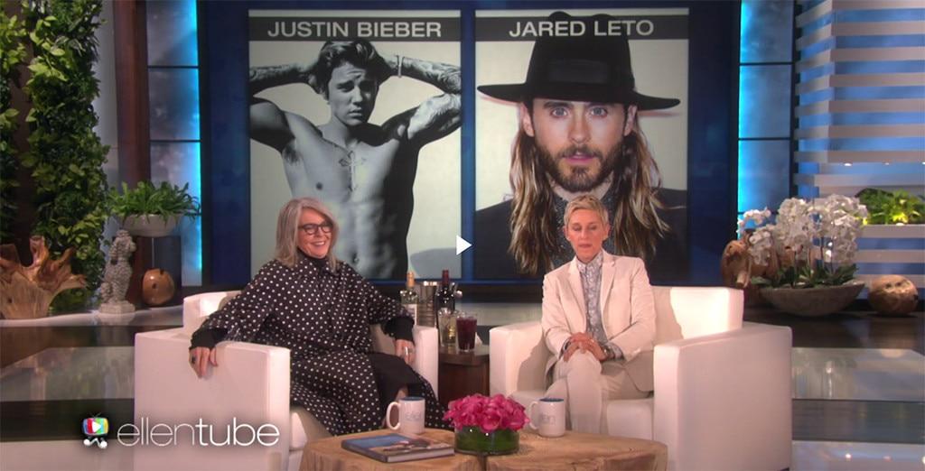 Diane Keaton, The Ellen DeGeneres Show