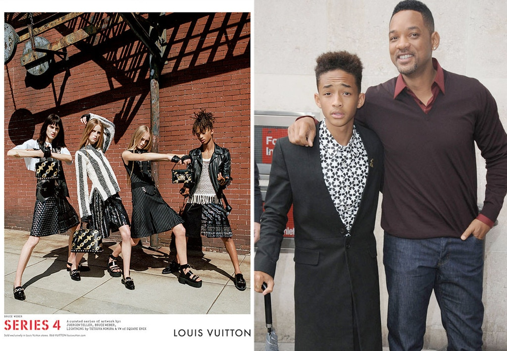 Celeb Kids Who Model, Jaden Smith