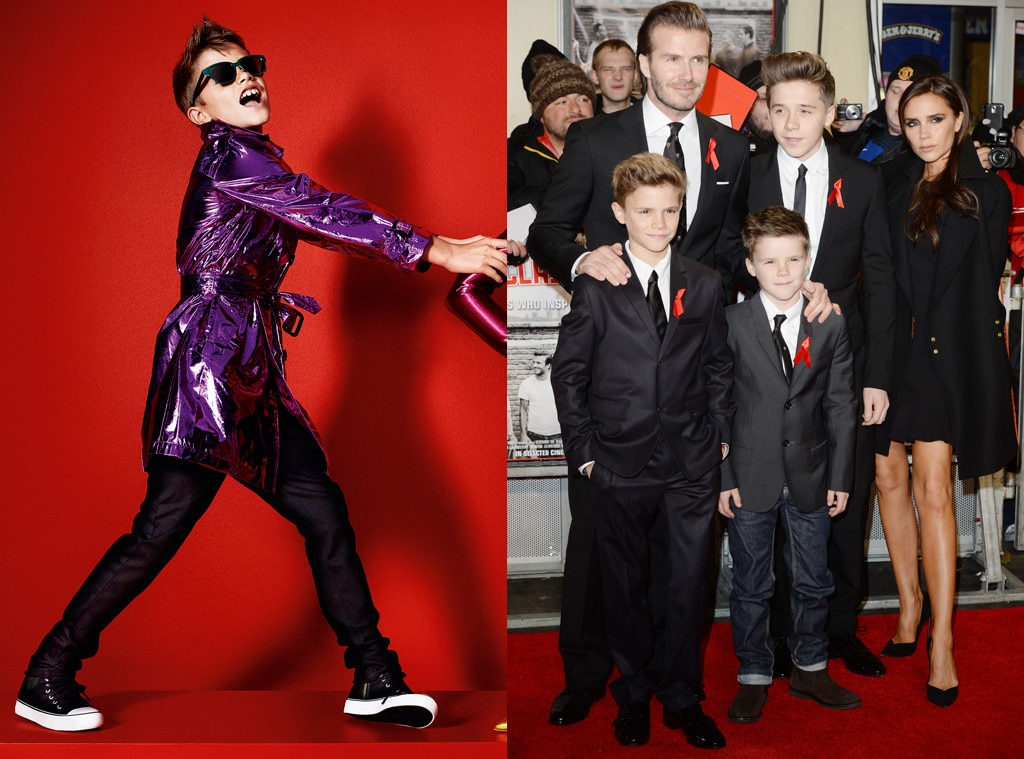 Celeb Kids Who Model, Romeo Beckham