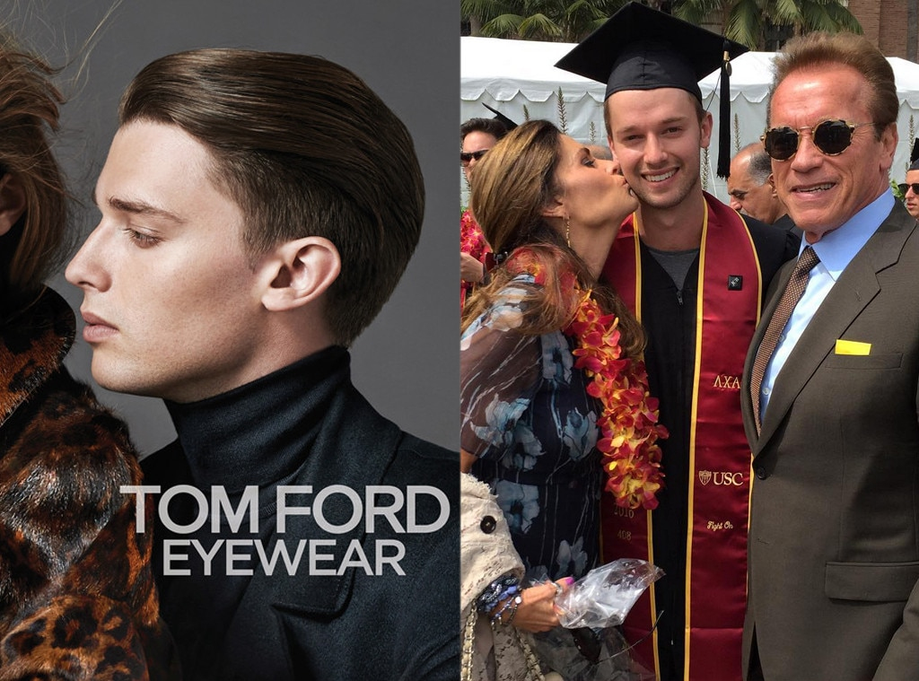 Celeb Kids Who Model, Patrick Schwarzenegger