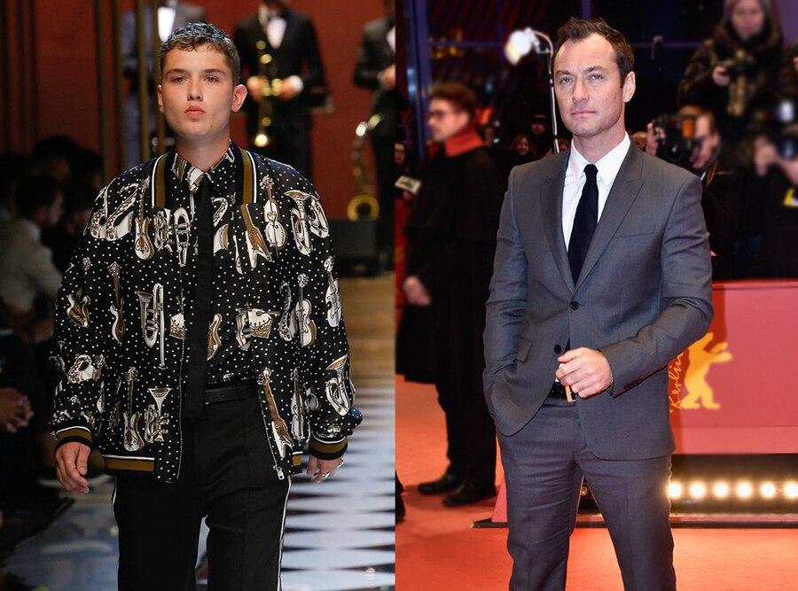 Jude Law, Rafferty Law, Celeb Kids Who Model