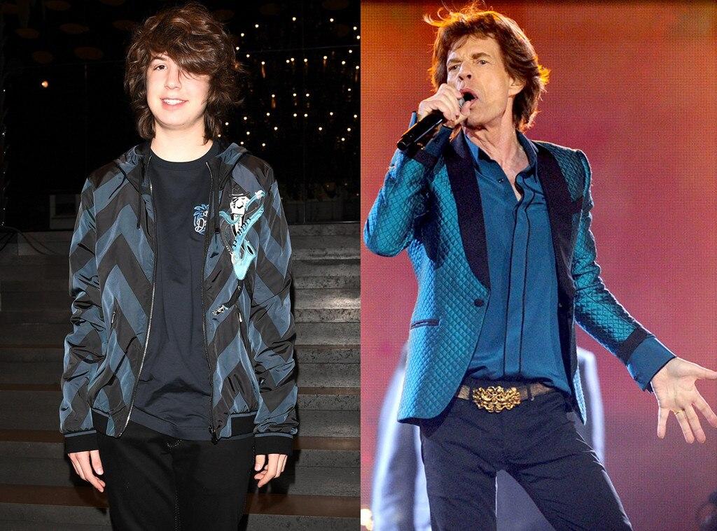 Mick Jagger, Lucas Jagger