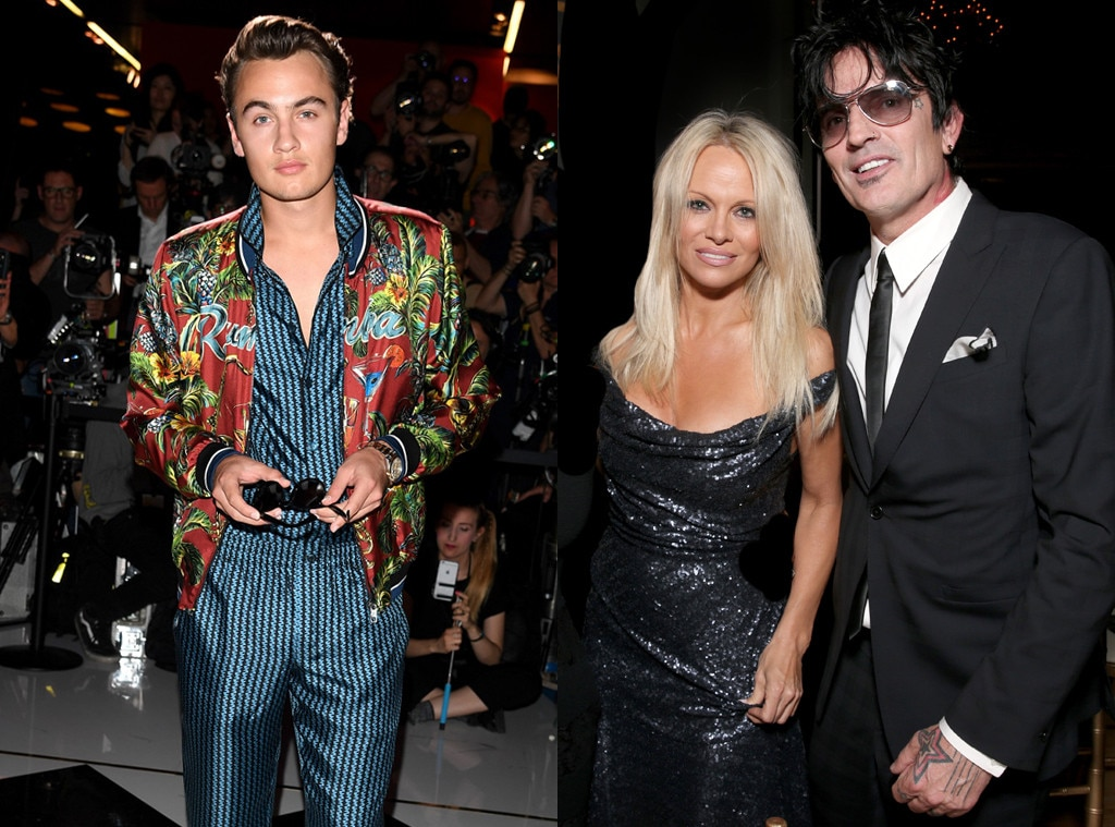 Pamela Anderson, Tommy Lee, Celeb Kids Who Model
