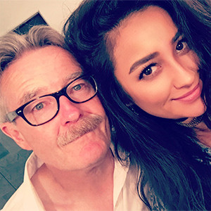 Shay Mitchell, Fathers Day 2016, Twitter