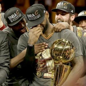 LeBron James, 2016 NBA Winner