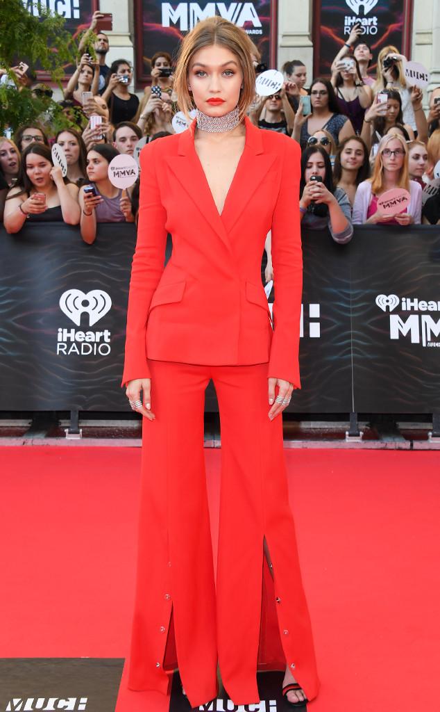 Gigi Hadid, Much Music Awards 2016