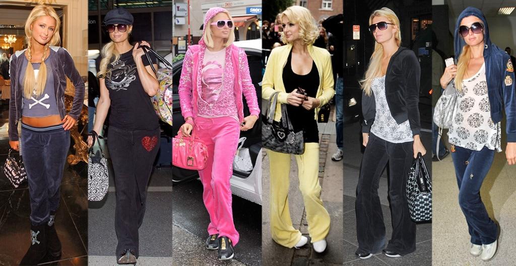 Paris Hilton, Juicy Couture Tracksuits