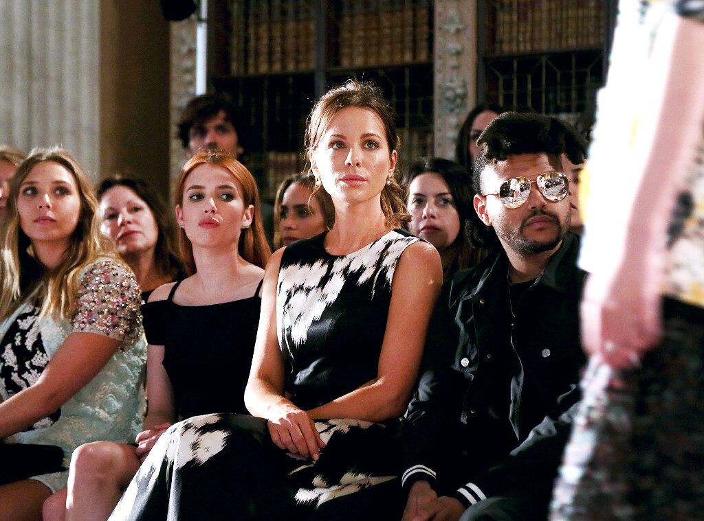 ESC: Dior, Elizabeth Olsen, Emma Roberts, Kate Beckinsale, The Weeknd