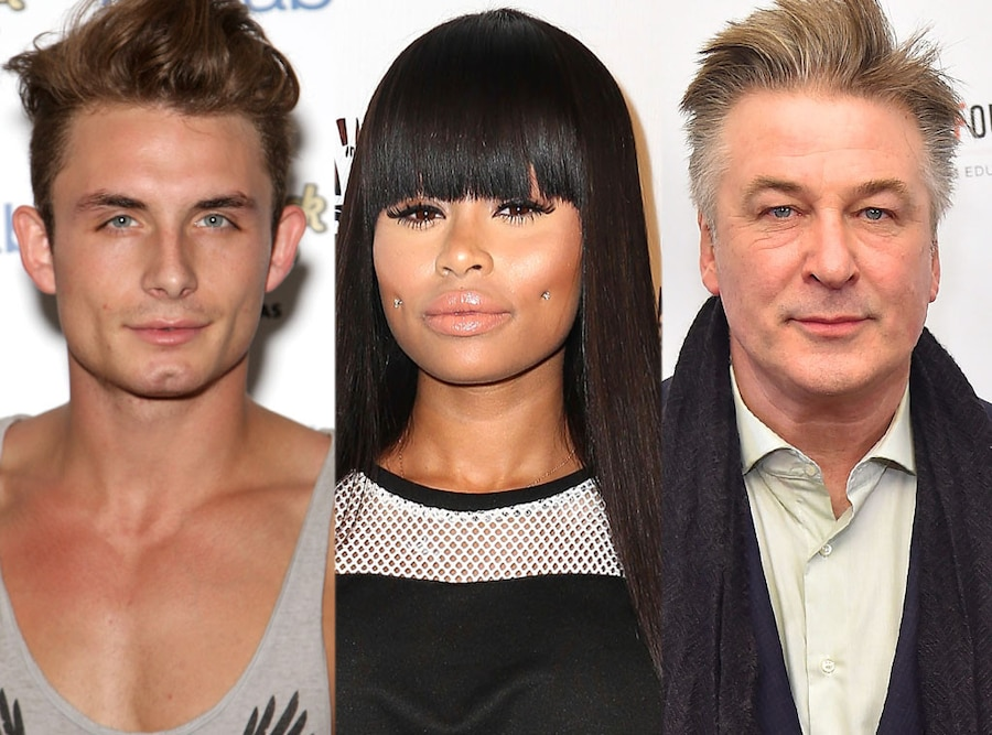 James Kennedy, Blac Chyna, Alec Baldwin
