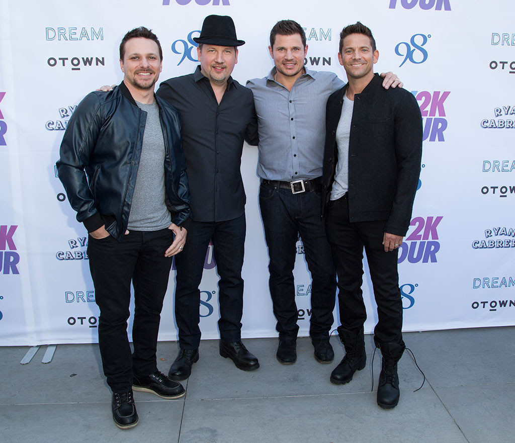 Drew Lachey, Justin Jeffre, Nick Lachey, Jeff Timmons, 98 Degrees