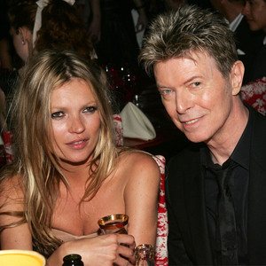 Kate Moss, David Bowie