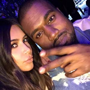 Kanye West, Kim Kardashian, Snapchat