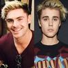 Zac Efron, Justin Bieber